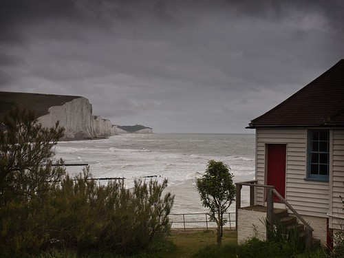 Cottages with view of the Seven Sisters