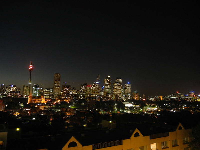 Sydney skyline as seen from Potts Point