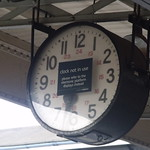 Worcester Shrub Hill Station - clock not in use