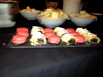 Hot Tamale Macarons and Raisinet Phyllo Wraps