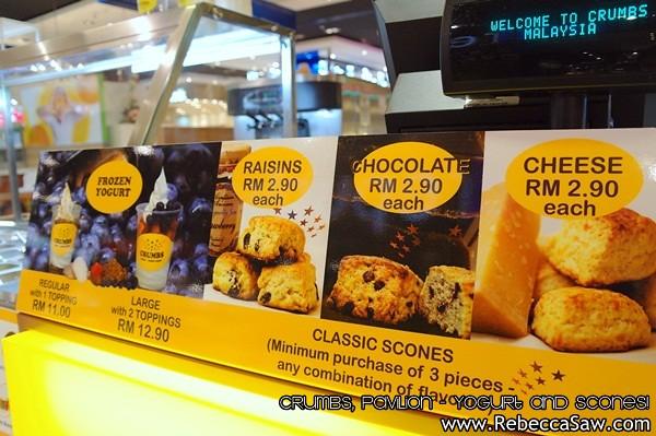 Crumbs Pavilion - yogurt and scones-7