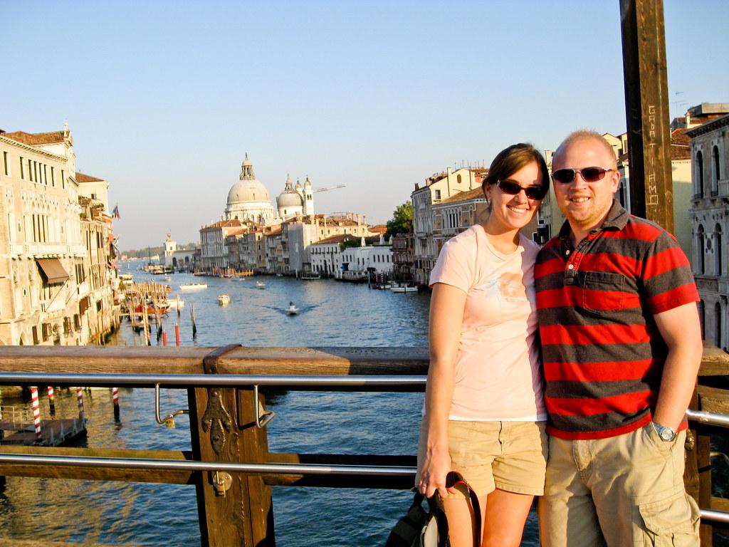 Patrick & Sara in Venice
