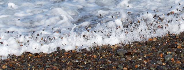 Flying pebbles