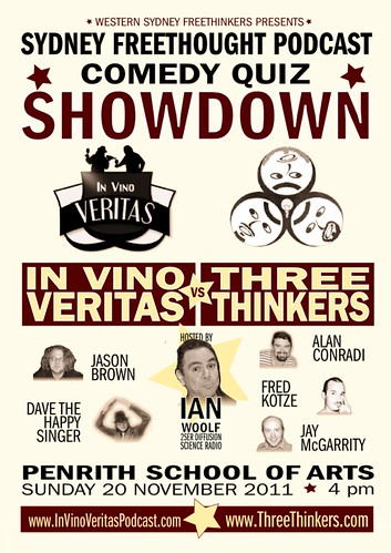 In Vino Veritas vs Three Thinkers Comedy quiz showdown