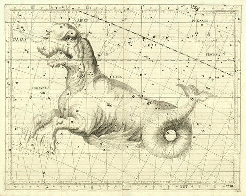008-Atlas Coelestis 1729- John Flamsteed- University of Michigan Shapiro Science Library