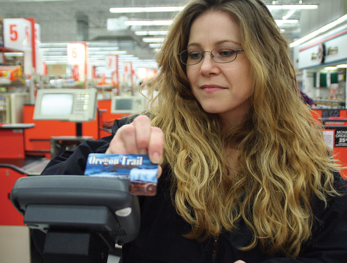 Buying food with the EBT card