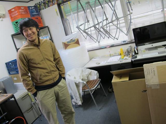 終始楽しそうな田中氏。