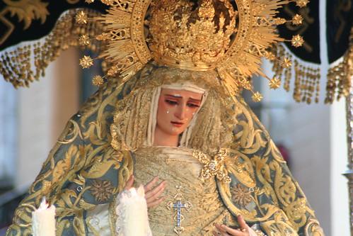 Nuestra Señora de las Lágrimas, Hermandad de la Exaltación de Sevilla, Jueves Santo 2010