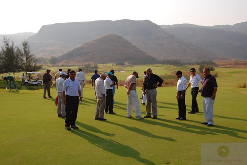CIDCO golf course visit