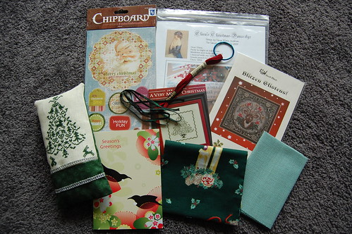 Xmas exchange for Pirjo in Finland