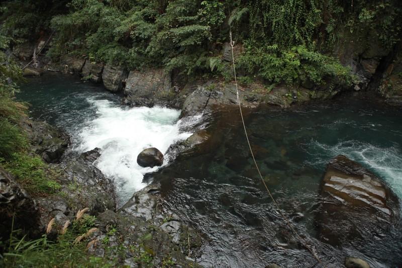 嘎拉賀溫泉上游溪谷