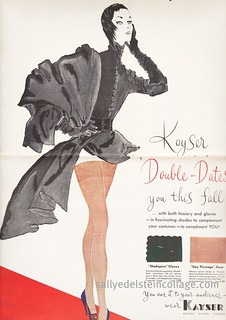 """Kayser stockings Ad 1951"