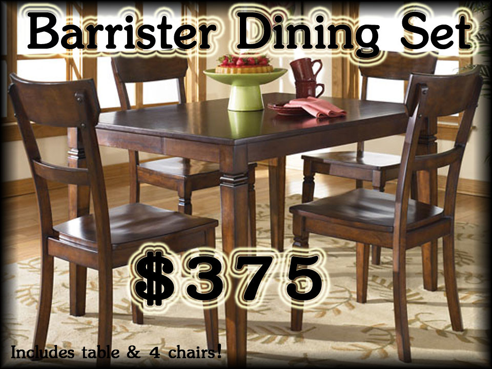 Barrister Casual  Dining Set