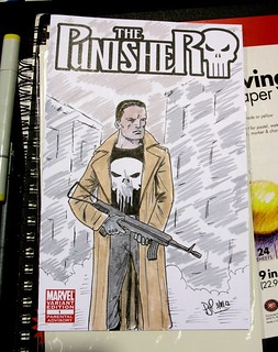 Punisher sketch cover