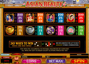 free Asian Beauty slot mini symbol