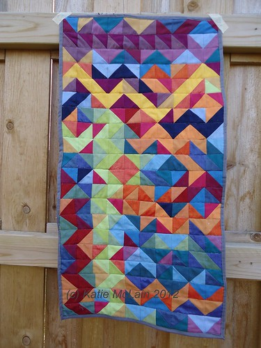 Project Quilting Challenge: Zig Zag