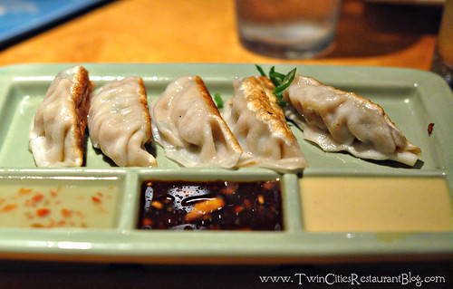 Pork Potstickers at Big Bowl ~ Roseville, MN