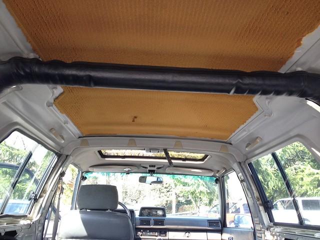 1st Gen 4runner Canopy Headliner Replacement How To