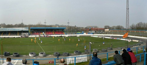 East Terracing and Main Stand, Central Park, Cowdenbeath