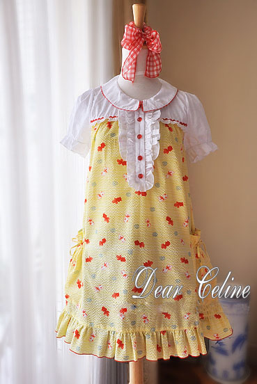 Dear_Celine_Lovely_Gake_No_Ue_No_Ponyo_Cotton_Lolita_Dress