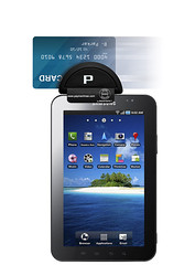 Galaxy Tablet Card Reader Swiper