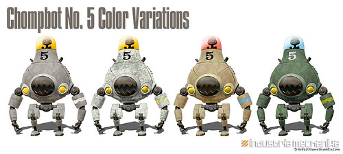 Chompbot #5 Color Variations