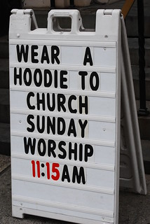 Wear A Hoodie To Church