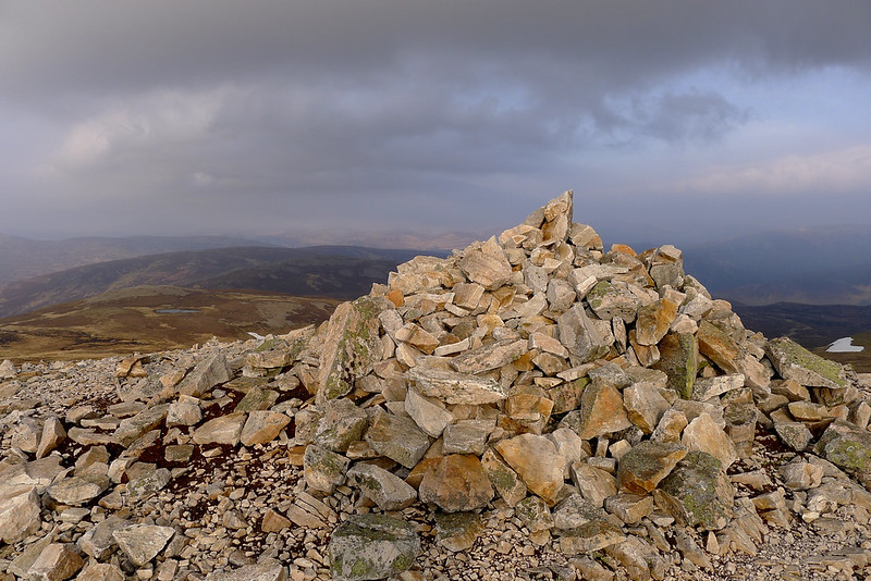 Summit of Carn a' Chlamain