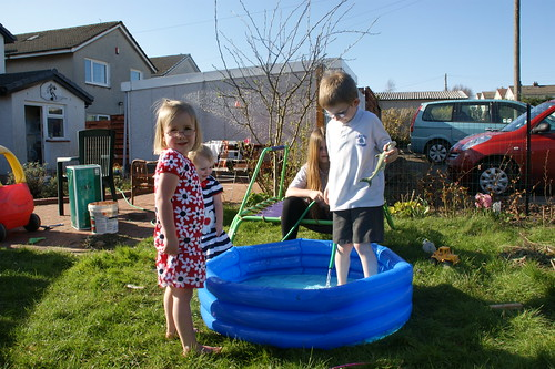 Paddling pool in March! by PhylB