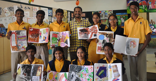 Dhanaraj Keezhara & His Class