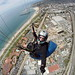 Cormac Paragliding self portrait with XShot and GoPro