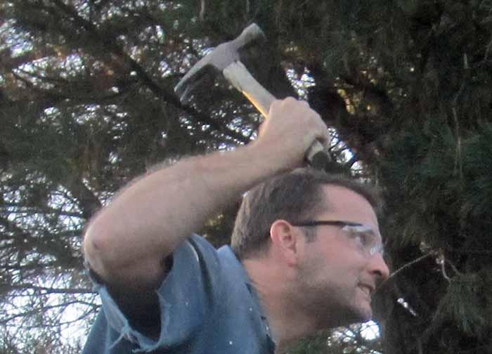 Hammering Shawn