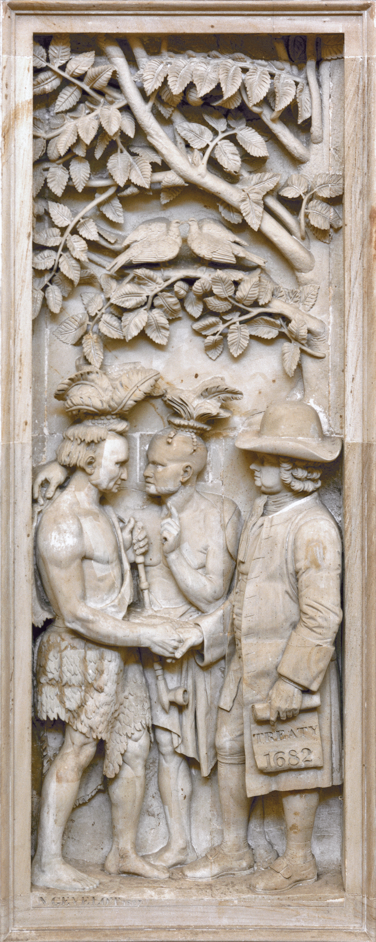 William Penn S Treaty With The Indians 1682 Architect