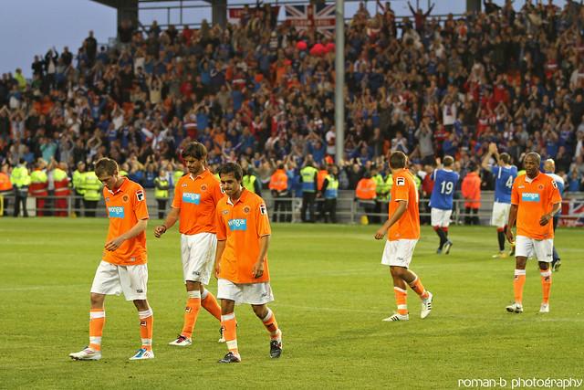 Blackpool FC v Rangers 09 | Flickr - Photo Sharing!