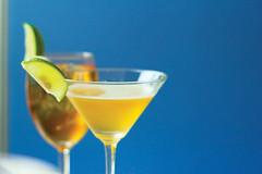 martini(0.0), non-alcoholic beverage(1.0), distilled beverage(1.0), liqueur(1.0), produce(1.0), cocktail garnish(1.0), drink(1.0), cocktail(1.0), alcoholic beverage(1.0),