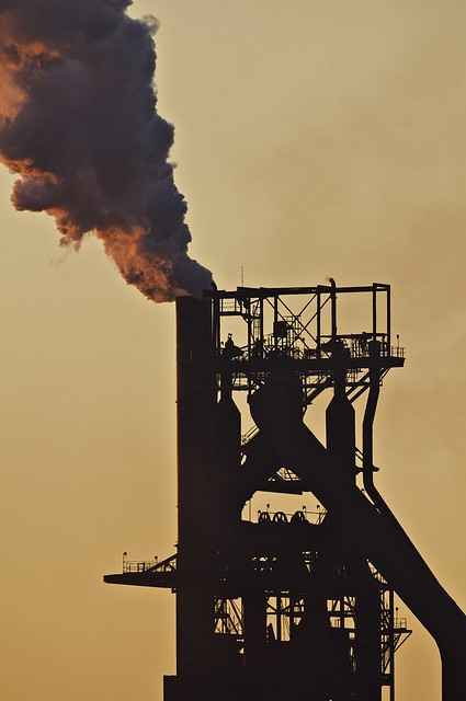 Number 7 Blast Furnace : Number seven blast furnace sault ste marie ontario