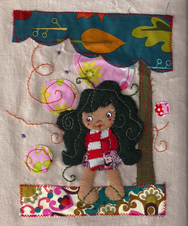 girl applique