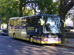 Urmetz  Setra S315 GT-HD, KIZ-691, fleet no. 125.