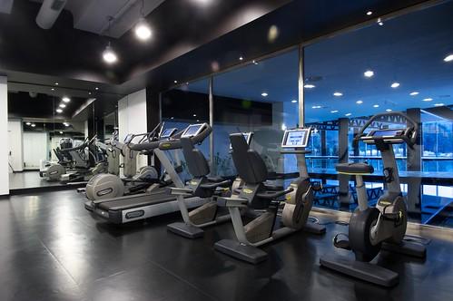 Panoramic fitness center