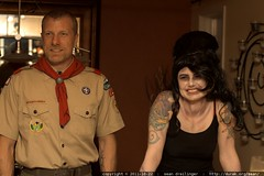 scoutmaster skai with zombie amy winehouse    MG 5825