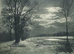 Winternacht an der Isar, 1905, by Alfred Erdmann