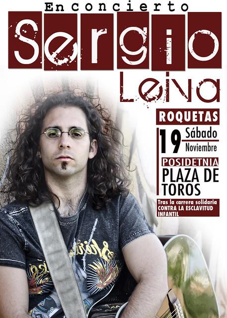 Concierto de Sergio Leiva en la Plaza de Toros de Roquetas