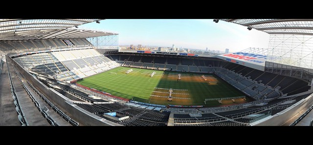 St. James' Park Panorama