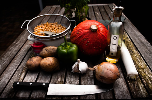 My Samhain stew : Potaje de garbanzos