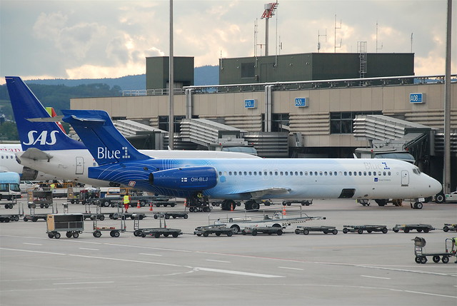 Blue 1 Boeing 717-23S; OH-BLJ@ZRH;28.07.2011/611ab