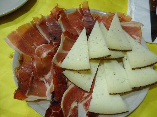 Zaragoza   Mesón Oliete   Jamón y Queso