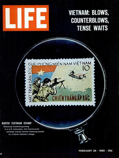 LIFE Magazine Feb 26, 1965 (1) - Vietnam: Blows, Counterblows, Tense Waits