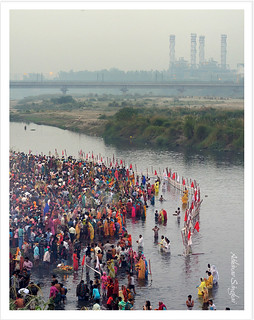 Bowing to the Sun -Chhath Puja
