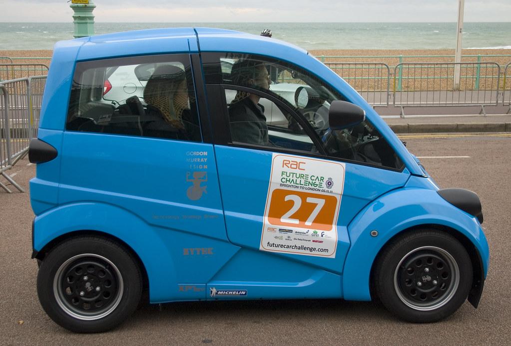 Gordon Murray Design: RAC Future Car Challenge