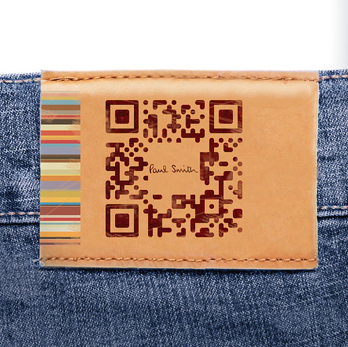 Personalised Paul Smith QR Code
